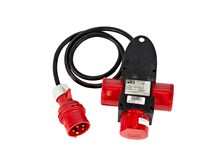 Adapter, 16 amp CEE for 3x16 amp CEE